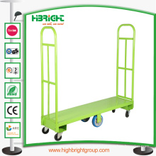 Six Whees Heavy Duty Warehouse Cargo Cart
