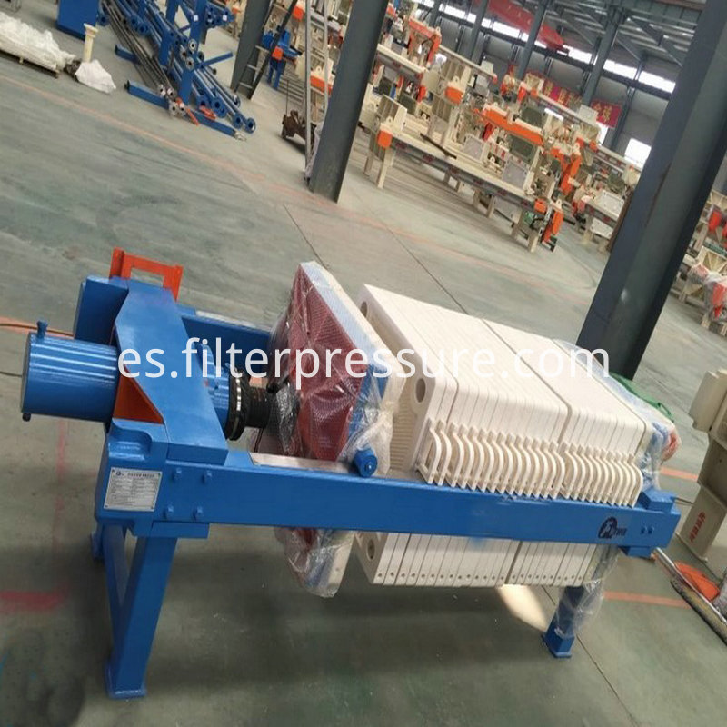 Coal Mine Plate Frame Filter Press