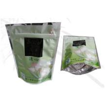 Stand up bolsa de té / bolsa de té plástico / Ziplock bolsa de té