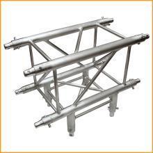 Conector de truss de espiga de aluminio de 4 vías