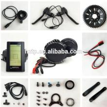 La mayoría de los kits de conversión de bicicleta eléctrica populor bafang revisan con cables impermeables