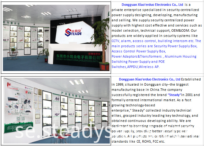 cctv power supply company