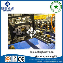 custom-made server cabinet frame nine fold rack roll forming machine