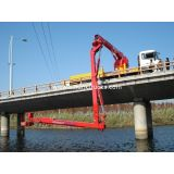 Dfl1250a9 6x4 16m Dongfeng Bucket Bridge Inspection Truck For Bridge Detection