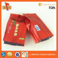 Food Grade Seite Zwickel laminiert Vakuum Tasche für Tee Verpackung