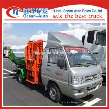 Cheap price original factory foton mini garbage truck