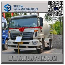 Foton Auman Etx 5 Cbm Cement Mixer Truck