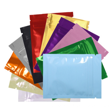 Hair extension plastic aluminium foil bag