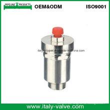 Latón pulido cromado válvula de ventilación de aire (IC-3034)