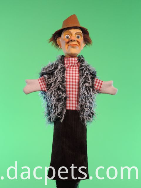 robber hand puppet