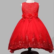 vestidos de cumpleaños de tutú rojo y blanco de la boda