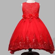 Robes d'anniversaire de mariage Tutu rouge et blanc