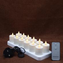 набор 12 перемещение пламени спидере аккумуляторная чайные свечи