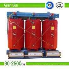 33kv drei Phase trockene Art Transformator vom Hersteller (160-3150kVA)