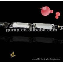 Courroies en cuir de diamant en métal (GBRD0172)