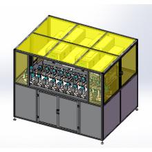 Ocho de Color máquina de impresión Tampo con el transportador