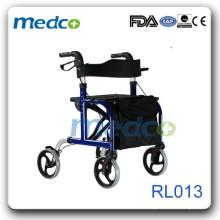 Gute Qualität leichter Rollator mit Ruhesitz RL013