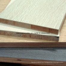 La venta caliente de alta calidad Melamina Blockboard (18mm)
