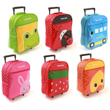 School Bag with Luggage and Trolley for Children