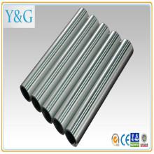 7010 7075 (C77S) 7075 (C77S) moinho anodizado de liga de alumínio acabado tubo / tubo com areia