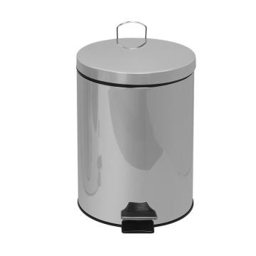 30 Poubelle à pédale en acier inoxydable L410, poubelle
