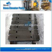 Bloque de contrapeso de placa de acero de alta calidad