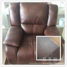 Textiles para el hogar cuero tela para el sofá
