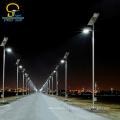 Marca famosa chinesa personalizado levou luz de rua solar ao ar livre