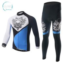 100% Polyester Man's Knit Radfahren Jersey