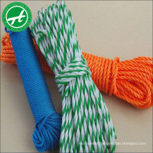 Hot sale polypropylene braided rope 4mm with competitive price
