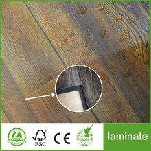 12 mm HDF Black Oak laminasi lantai