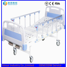 China Supply, Medical Instrument Manual Double Shake Hospital Bed