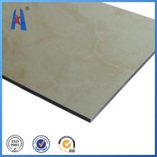 Normalmente Material de construção Granito Painel composto de alumínio