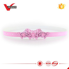 Pink butterfly kid princess girl belt