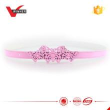 Pink butterfly kid princess girl belt