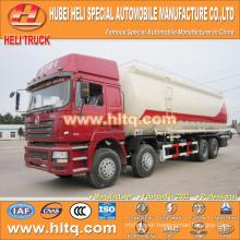 SHACMAN F3000 grain flour transport truck 8x4 40M3 340hp Weichai power