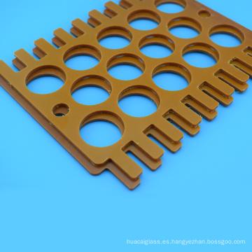 Procesamiento CNC de piezas mecanizadas Hoja de baquelita personalizada