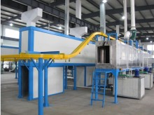 Complete Aluminium Profile Powder Coating Line