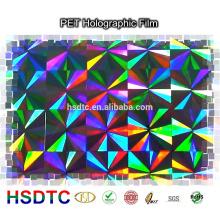 ПЭТ Голографическая Лазерная пленка пленка для печати