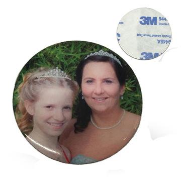 Custom Metal Printed Logo Family Sticker for Family Party (xd-031719)