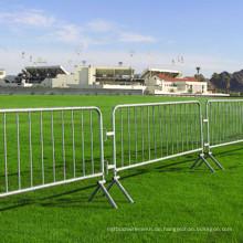 Metall Stahl Crowd Control Barriere für Road Way
