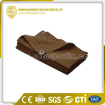 Multi-purpose Eco-Friendly Cotton Canvas Tarpaulin