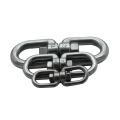 Anneau tournant en acier inoxydable 304 pivotant 8 boucle de lien de chaîne d'anneau de mot
