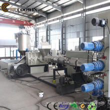 WPC PVC Foamed Board WPC Extrusion Line with Two Conical Screw Extruders