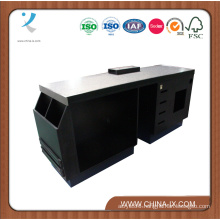 Wood and Metal Multifunctional Cabinet