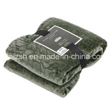 Plain Cobblestone Series Thickened Cashmere Flannel Blankets