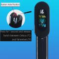 Acessórios para aquário Temp / PH / TDS / Temp. Do ar / Umidade Tester Termômetro de aquário digital com LCD