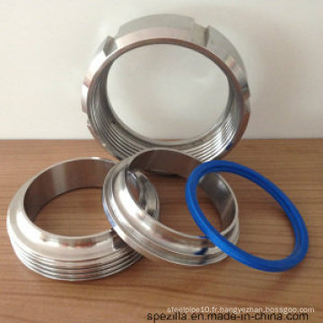 Raccords de tuyaux sanitaires - Collier de connexion de ferreuse, basse pression