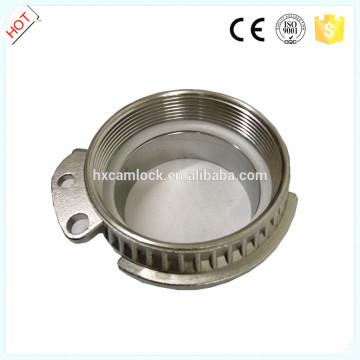 Wagon-citerne en acier inoxydable couplage DIN 28450 VK avec une bonne qualité
