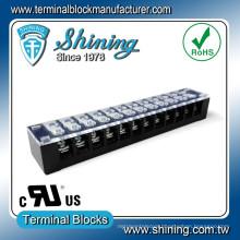 TB-33512CP 300V 12 Pin Low Voltage Quick Connector Terminal Strip